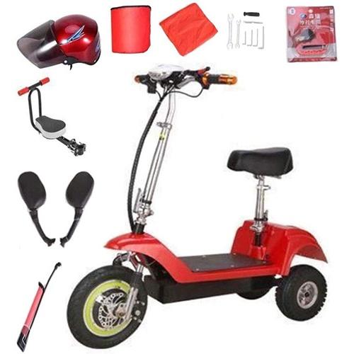 Mini Vélo Electrique CYGGL Monoplace rouge