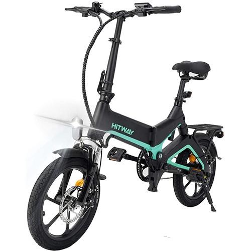Mini Vélo Electrique HITWAY BK2-HW1-Noir